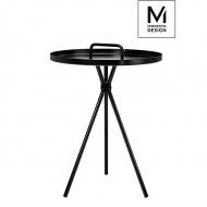 MODESTO stolik AMIGO czarny - metal