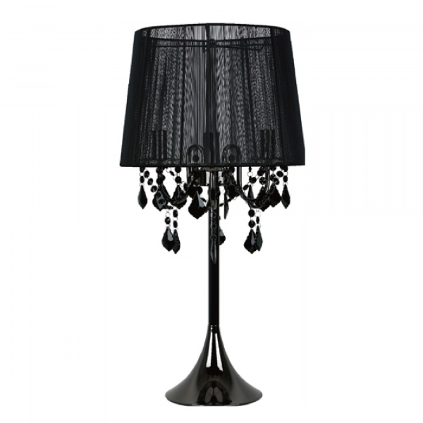 Mona biurkowa czarna LP-5005/1T czarna