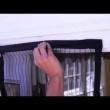 Moskitiera czarna na drzwi z magnesami 210x100cm mag-135366-c