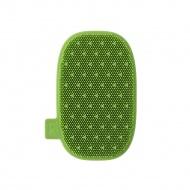myjka silikonowa, 12,5 x 8 cm, zielona