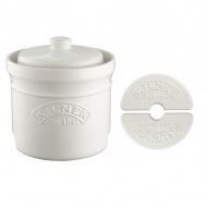 Naczynie ceramiczne do kiszenia 9,5l Kilner białe