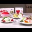 Naczynie do gotowania jajek OVO - owalne Lekue Tools czerwone 3402000R10U008