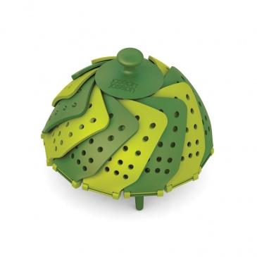 Naczynie do gotowania na parze Joseph Joseph Lotus Plus zielone