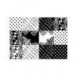 Naklejka na notebooka Bar Style G-Cube Black&White GCNGSBW15B