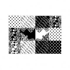 Naklejka na notebooka Bar Style G-Cube Black&White