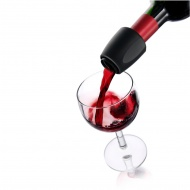 Nalewak do wina 5,5x4,2 cm Vacu Vin czarny
