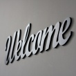Napis na ścianę DekoSign WELCOME czarny WELCOME1-1