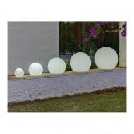 NEW GARDEN lampa ogrodowa BULY 40 biała - LED