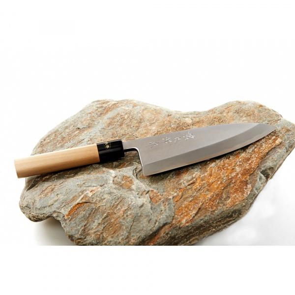 Nóż Deba 18cm Tojiro Aogami Buffalo Horn  HK-F-977