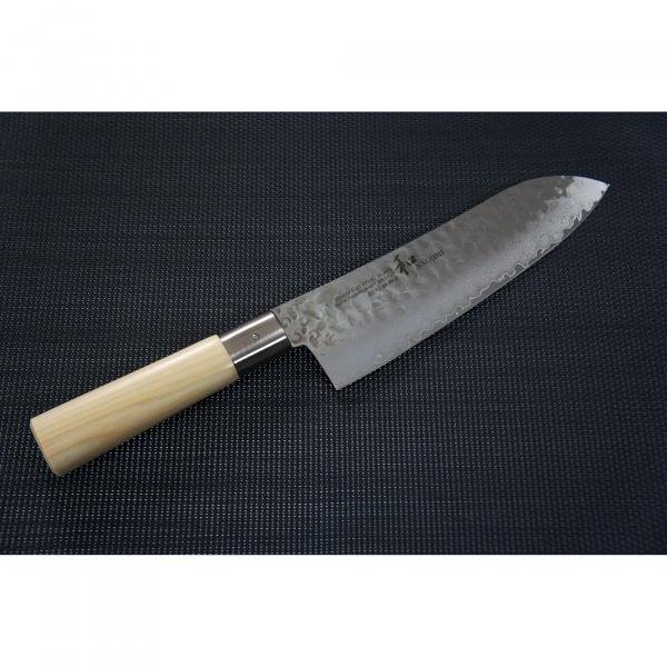 Nóż Santoku 18,5cm Nagomi Shiro  HK-NS185SA
