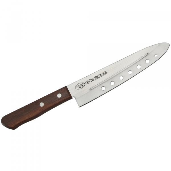 Nóż szefa kuchni Air Holes 18cm Satake Tomoko HK-803-724
