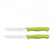 Noże do smarowania 2szt Zassenhaus zielony