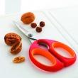 Nożyce kuchenne wielofunkcyjne 20,5 cm Mastrad pomarańczowe MA-F24004