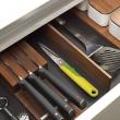 Nożyk i nożyce 2 w 1 Joseph Joseph Twin Cut zielone 10090