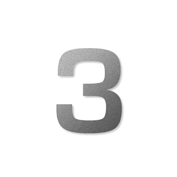 "Numer na dom Keilbach Big Number L ""3"" BIGNUMBER_L_3"