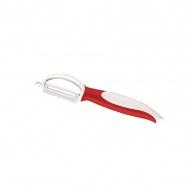 Obierak ceramiczny z ruchomym ostrzem 18,5 cm Zassenhaus czerwony