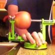 Obierak do jabłek Zassenhaus czarny ZS-072020