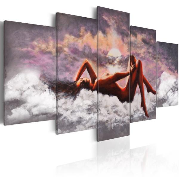 Obraz - Akt w chmurach (100x50 cm) A0-N1103