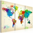 Obraz - All colors of the World - triptych A0-N2531