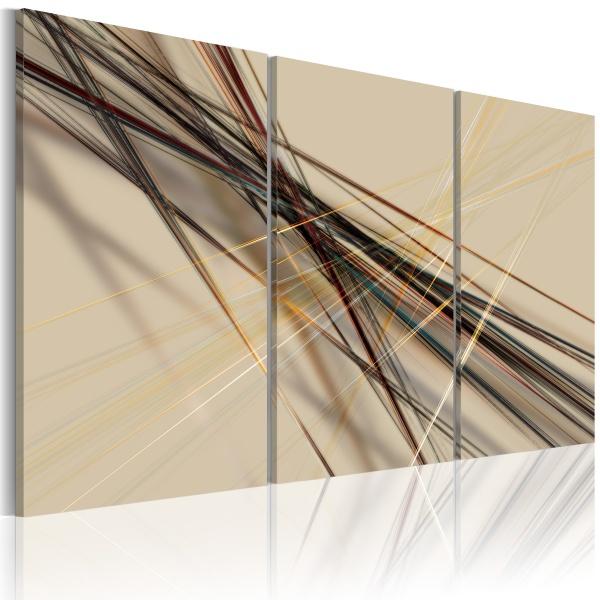 Obraz - Azyl – szarości (60x40 cm) A0-N1150