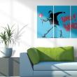 Obraz - Bang bang! - triptych A0-N2222