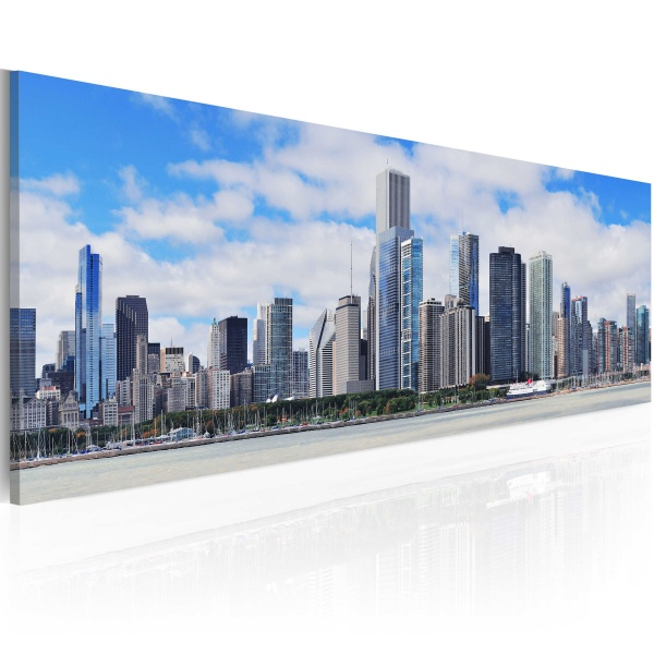 Obraz - Big city - big hopes (120x40 cm) A0-N1217