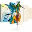 Obraz - Bird's music - 5 pieces A0-N2701