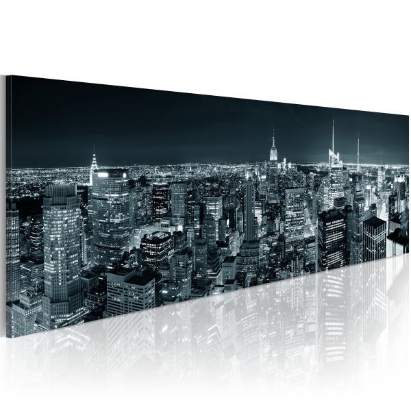 Obraz - Boundless city (120x40 cm) A0-N1200