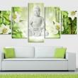 Obraz - Budda i jaśmin A0-N3396