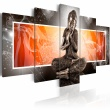 Obraz - Budda i ornamenty A0-N2721