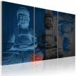 Obraz - Budda - rzeźba A0-N2290