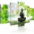 Obraz - Budda z mosiądzu A0-N2659