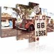 Obraz - California - vintage style A0-N2469