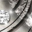 Obraz - Diamentowa gałązka A0-N3367