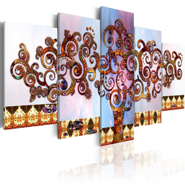 Obraz - Drzewo Klimta (100x50 cm) A0-N1264