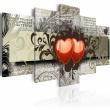 Obraz - Dwa serca, jedna myśl... A0-N2969
