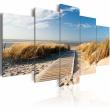 Obraz - Dzika plaża - 5 części A0-N2466