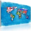 Obraz - Flagi świata A0-N2153