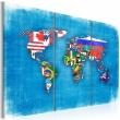 Obraz - Flagi świata - tryptyk A0-N2108