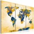 Obraz - Four corners of the World - triptych A0-N2526