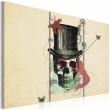 Obraz - Gentleman's skeleton A0-N2594