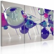 Obraz - Glass bubbles - triptych A0-N2337