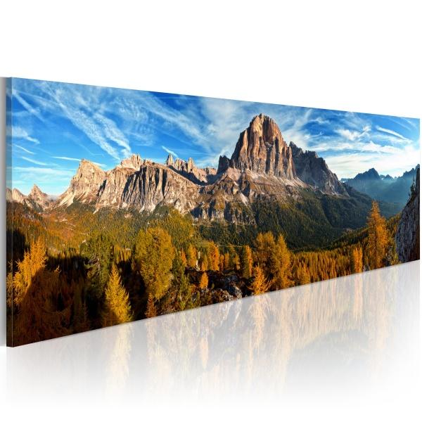 Obraz - góra, krajobraz - panorama (120x40 cm) A0-N1230