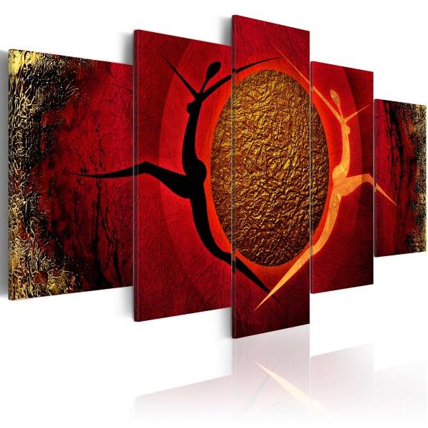 Obraz - Gorący taniec (100x50 cm) A0-N1135