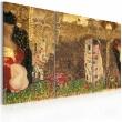 Obraz - Gustav Klimt - inspiracja, tryptyk A0-N2318