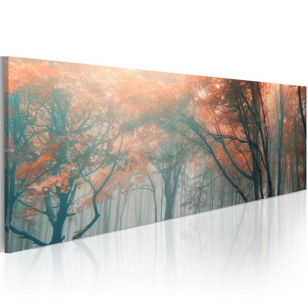 Obraz - Jesienna mgła (120x40 cm) A0-N1205