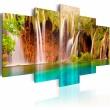 Obraz - Leśny wodospad A0-N3068