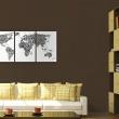 Obraz - Litery i kontynenty A0-N2080