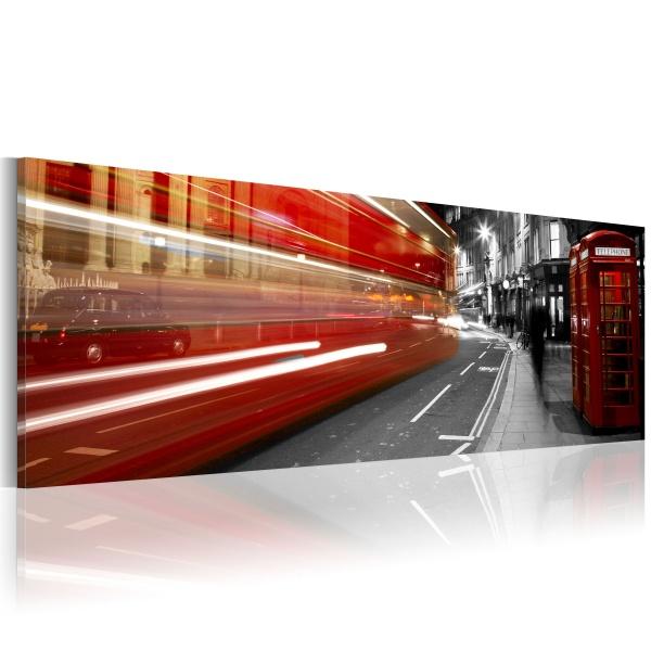 Obraz - London rush hour (120x40 cm) A0-N1216