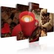 Obraz - Love espresso A0-N2974